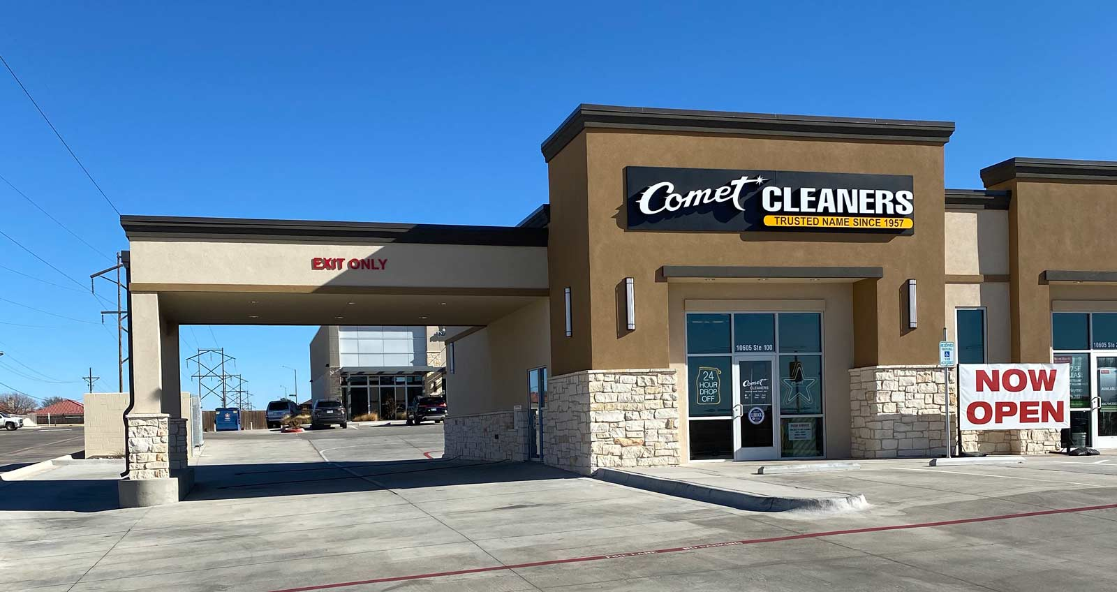 Comet Cleaners - 10605 Slide Rd - Lubbock, TX